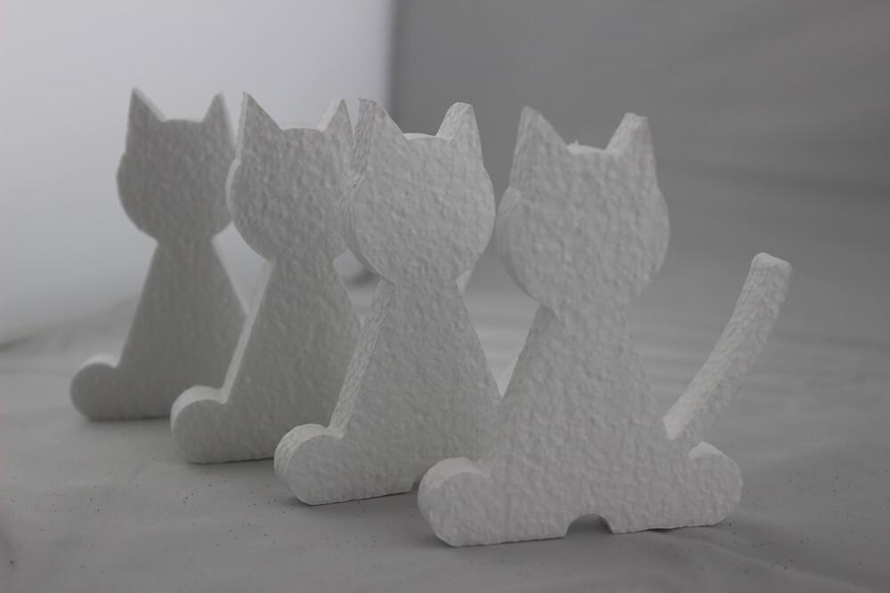 装飾(椅子と猫)サンプル品